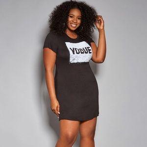 Ashley Stewart Vogue Reversible Sequin Dress 16/18